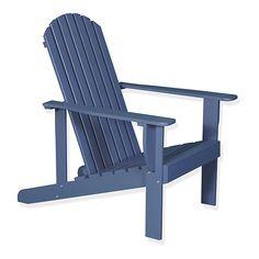 Table basse de jardin en acacia lasuré bleu - Bergonce - Tables ...