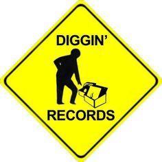 Diggin' Records  #vinyl #records http://www.pinterest.com/djspyder/edisons-medicine-vinyl-records/
