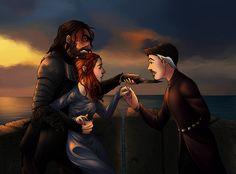 Sandor x Sansa x Petyr (SanSanIsh) by foxyx on deviantART