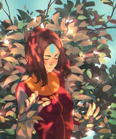 Avatar the legend of korra art Avatar Aang, Avatar The Last Airbender Art, Team Avatar, Avatar Series, Iroh, Azula, Korrasami, Fire Nation, Fanarts Anime