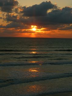 Sunset @ Ponce Inlet, FL