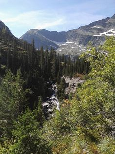 Another hike into the Montana Cabinet Wilderness.  You could hear this beautiful waterfall before you could see it.