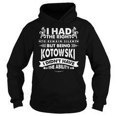 I Love KOTOWSKI-the-awesome T shirts