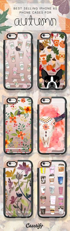 Getting ready for Pumpkin Spice Season! Shop our best selling iPhone 6S and iPhone 7 cases here > https://www.casetify.com/artworks/Xsq2lbCcSn