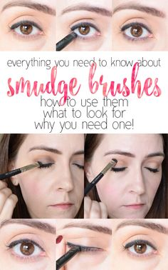Super helpful!  I want to buy all the smudge brushes.  All of them!!