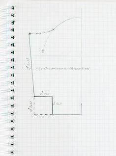 мое рукоделие:): МК кошелек на фермуаре - делаем выкройку и шьем