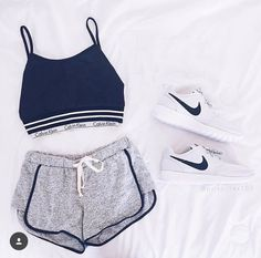 Cute for a at home workout ❤