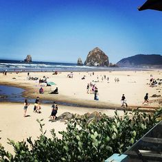 Cannon Beach Mo S See More Picture Perfect Day On The Oregon Coast Tolovana Haystackrock Oregoncoast Pictureperfect