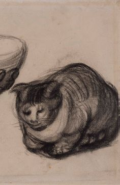 Hand with a Bowl, and a Cat - Van Gogh Museum