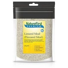 Natures First Linseed Meal 400gm - http://www.veggiemeals.com.au/shop/grocery/natures-first-linseed-meal-400gm/ #400Gm, #First, #GroceryGtGrainsNutsAndSeeds, #Health, #Linseed, #Meal, #NatureS, #Products #veggiemeals #vegetarian
