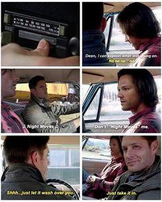 Dean's so proud of Sammy