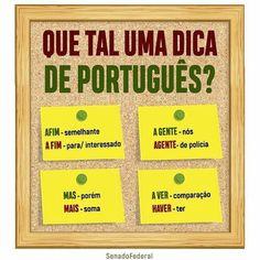 Learn Brazilian Portuguese, Portuguese Lessons, Portuguese Language, Study Organization, Bullet Journal School, Lettering Tutorial, School Memes, Study Notes, Study Tips