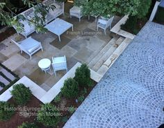 French Limestone Project Photos from Monarch Stone International Limestone Flooring, Luxury House Plans, Paving Stones, Cladding, Interior And Exterior, Patio, French, Architecture, House Styles