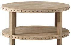 Nailhead Coffee Table - Coffee Tables - Living Room - Furniture | HomeDecorators.com