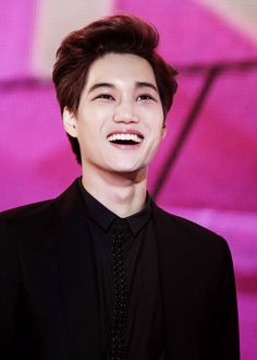 Kai - Look at his lovely smile