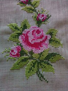 Have a good Friday. Cross Stitch Pillow, Cross Stitch Heart, Beaded Cross Stitch, Crochet Cross, Cross Stitch Embroidery, Cross Stitch Patterns Free Easy, Cross Stitch Borders, Cross Stitch Flowers, Cross Stitch Designs