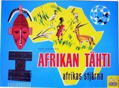 Tunnetuin suomalainen lautapeli, Afrikan tähti. Kari Mannerlan vuonna 1949 19-vuotiaana kehittämä ja kaksi vuotta myöhemmin julkaistu peli, jota on 50 vuoden aikana myyty 3,5 miljoonaa kappaletta ja josta on kymmenkunta kieliversiota.
