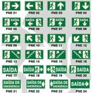 placas de sinalização sinalização de segurança placas sinalizadoras modelos de…