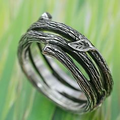 TWIG AND LEAF Band by BandScapes #rings