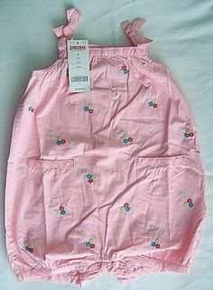 NWT Gymboree Baby/Toddler Girl Pink Flower Bubble - Size 2T #Gymboree #Everyday