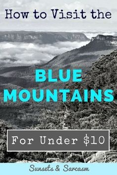 Do you want to visit the Blue Mountains from Sydney but you're on a small budget? This self-guided itinerary for backpackers and budget travellers shows you how to skip the expensive tours and explore the Australian Blue Mountains for under $10 using public transport, visiting two historical Australian towns, Katoomba and Leura, the famous Three Sisters rock formation at Echo Point and a choice of walks and waterfalls. The perfect Sydney day trip.