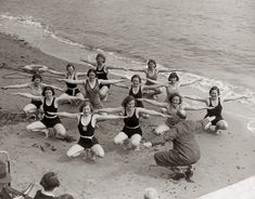 Women in the Old Workout Gear