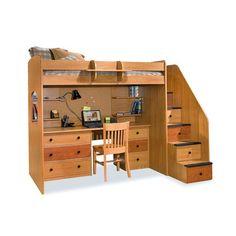 Bed Desk Dresser Combo Decor Pinterest Dresser