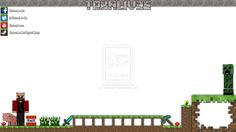Minecraft Twitch Overlay Template
