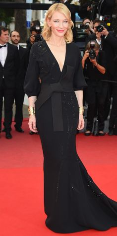 The Best of the 2015 Cannes Film Festival Red Carpet - Cate Blanchett in Armani Privé. from #InStyle