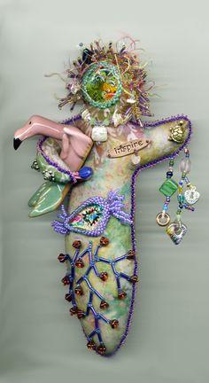 spirit dolls | Beaded Spirit Doll
