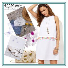"""ROMWE 8 / VII"" by ozil1982 ❤ liked on Polyvore"