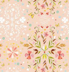 pretty handpainted pattern from Katie Daisy :)