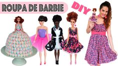 DIY: ROUPINHAS de BARBIE | Especial DIA DAS CRIANÇAS How to dress a Barbie doll DIY