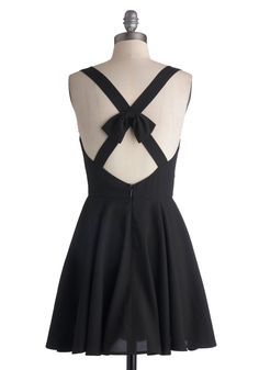 Little Black Dress Rehearsal, #ModCloth