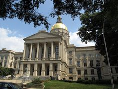 Georgia State Capitol: Atlanta. Built 1883-1889. Architectural Style: Renaissance, Classical Revival.