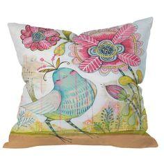 DENY Designs Cori Dantini I Love You More Indoor/Outdoor Throw Pillow
