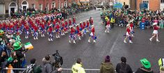 KILGORE COLLEGE RANGERETTES AT THE ST. PATRICKS'S DAY PARADE [2015] REF-102248 [The Streets Of Ireland]