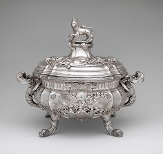 Maker: Paul de Lamerie (British, 1688–1751, active 1712–51) Date: 1736/37 Culture: British, London Medium: Silver