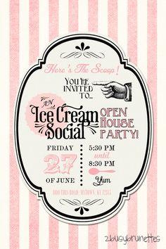 Ice Cream Social   2busybrunettes