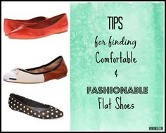 Tips for Finding Fashionable and Comfortable Flat Shoes