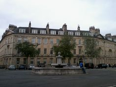 Laura Place, Bath, where Lady Dalrymple lived in 'Persuasion'. To find out about other literary destinations the Literary Detectives have investigated, follow us on Twitter @LitDetectives
