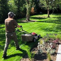 Our maintenance team are busy at work on our site in #Bramhall giving the new turf a fresh cut.  To learn more about our garden maintenance services visit our website at Dreamscapegardens.net  #garden #gardenmaintenance #gardentidyup #maintenance #stayhome #staysafe #heretohelp Garden Maintenance, Busy At Work, Tidy Up, Outdoor Power Equipment, This Is Us, Gardens, Fresh, Website, Instagram