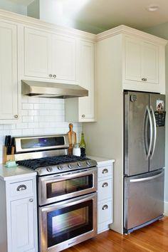 hummingbird highs kitchen remodel pt iii after hummingbird high a - Remodel Galley Kitchen Before After