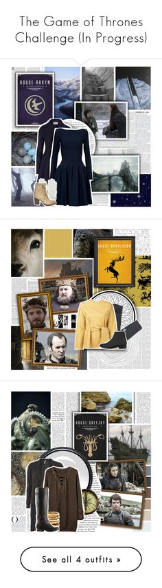 """""""The Game of Thrones Challenge (In Progress)"""" by evil-laugh ❤ liked on Polyvore featuring National Geographic Home, Harris Wharf London, Alaïa, Causse, Steve Madden, Timorous Beasties, Acne Studios, Studio Nicholson, Opening Ceremony and Dorothy Perkins"""