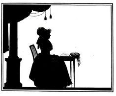 Die Goethezeit in Silhouetten 1911 Konkordia von Schardt ill 59