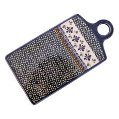 Euroquest Imports Polish Pottery Cheese Cutting Board - Pattern DU60