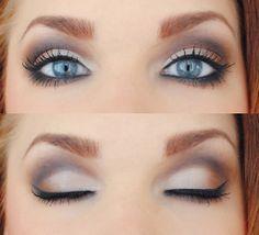 blue grey eyes eyeshadows - Hľadať Googlom