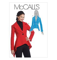 Misses' Lined Jackets  Perfect for Regina's Aqua Riding Jacket from OUAT.