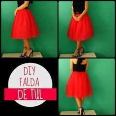 DIY: Tutorial para hacer una falda de tul