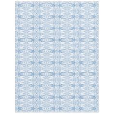 Fleece Blanket. Fractal Decor Pattern. Dark Blue - home decor design art diy cyo custom